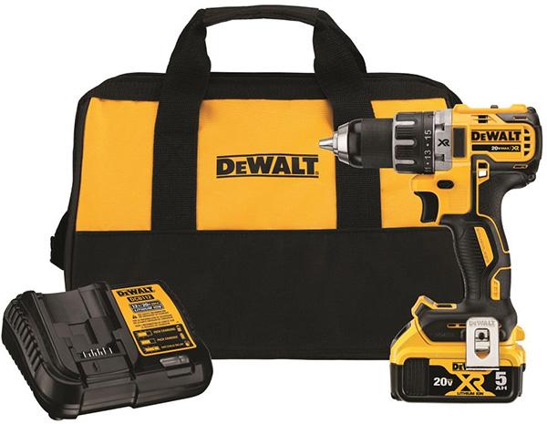 Dewalt DCD791P1 20V Max Cordless Drill Kit Promo Black Friday 2020
