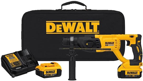 Dewalt DCH133M2 Cordless Rotary Hammer Kit