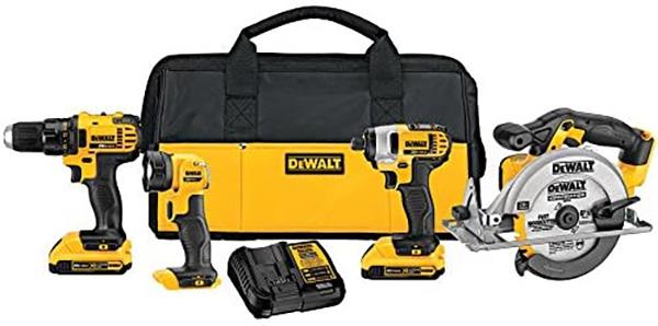 Dewalt DCK421D2 Cordless Power Tool Kit Deal