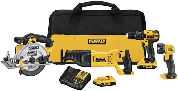 Dewalt DCK423D2 Cordless Power Tool Kit Deal