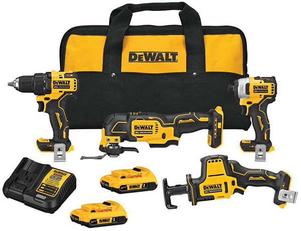Dewalt DCK489D2 Atomic Series Cordless Power Tool Combo Kit