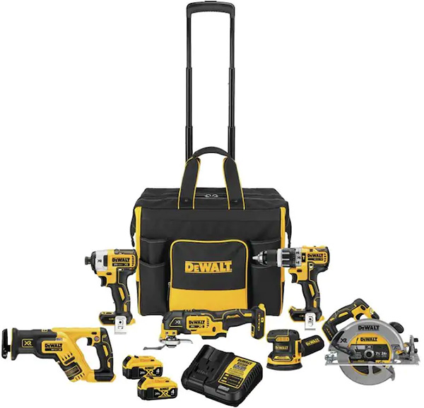 Dewalt DCKSS699M2 Cordless Power Tool Combo Kit