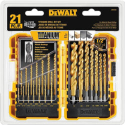 Dewalt DW1361 21pc Drill Bit Set