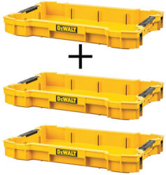 Dewalt ToughSystem 2 Tool Tray 3-Pack