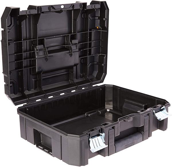 Dewalt Tstak Tool Box Open Compartment