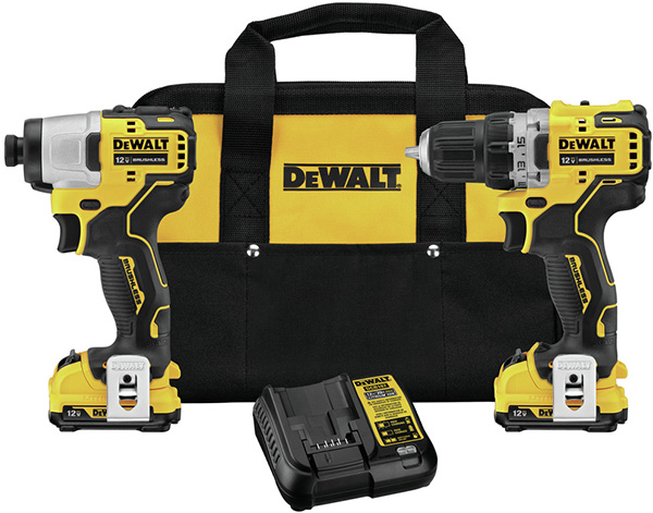 Dewalt Xtreme 12V Max Brushless Drill and Impact Driver Combo Kit