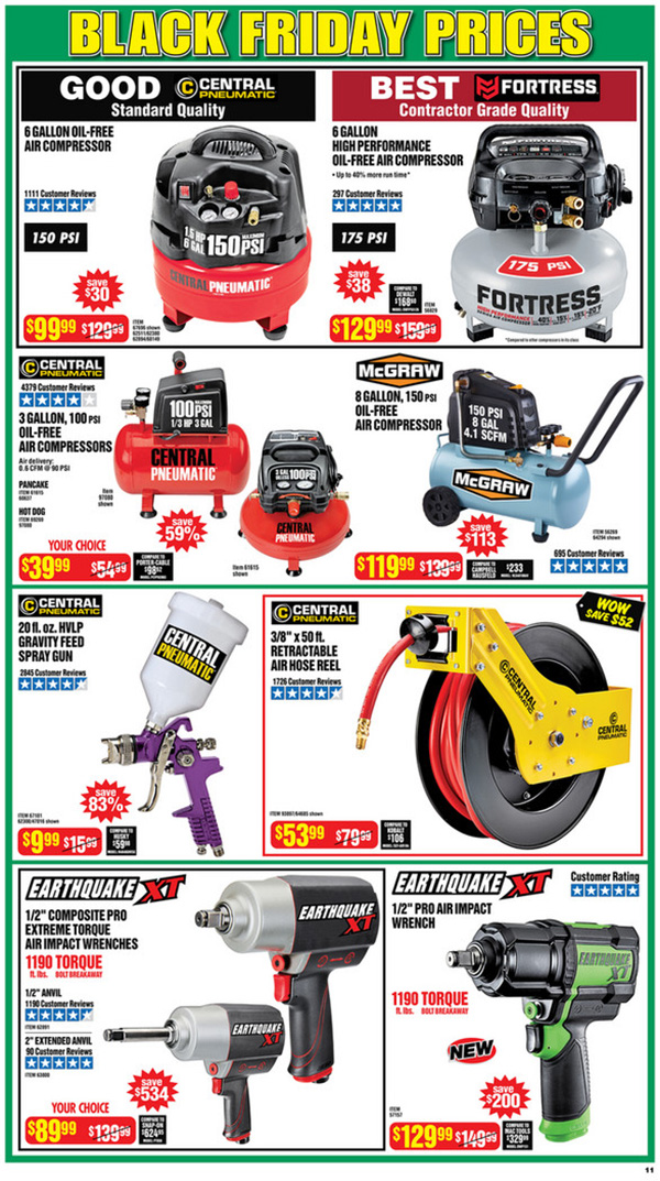 Harbor Freight Black Friday 2020 Tool Deals Page 11