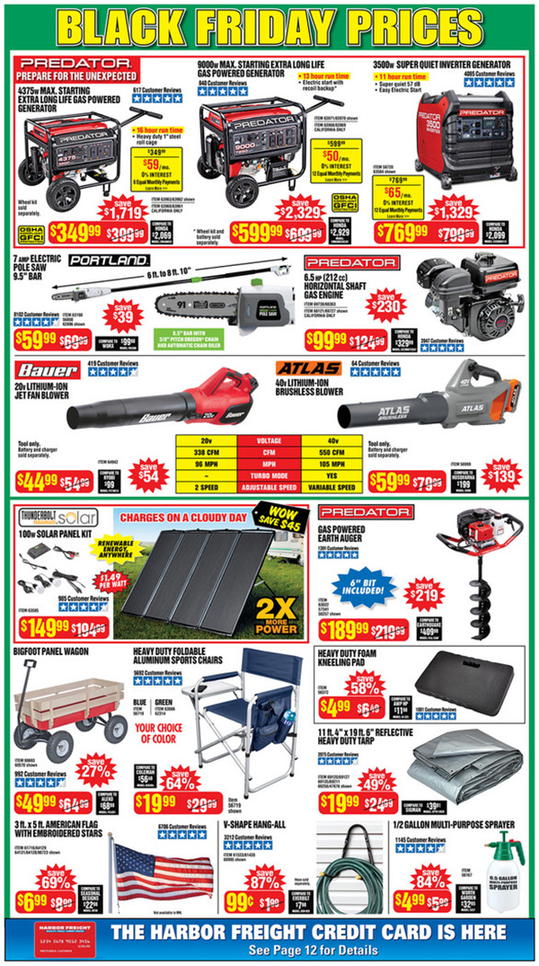 Harbor Freight Black Friday 2020 Tool Deals Page 2