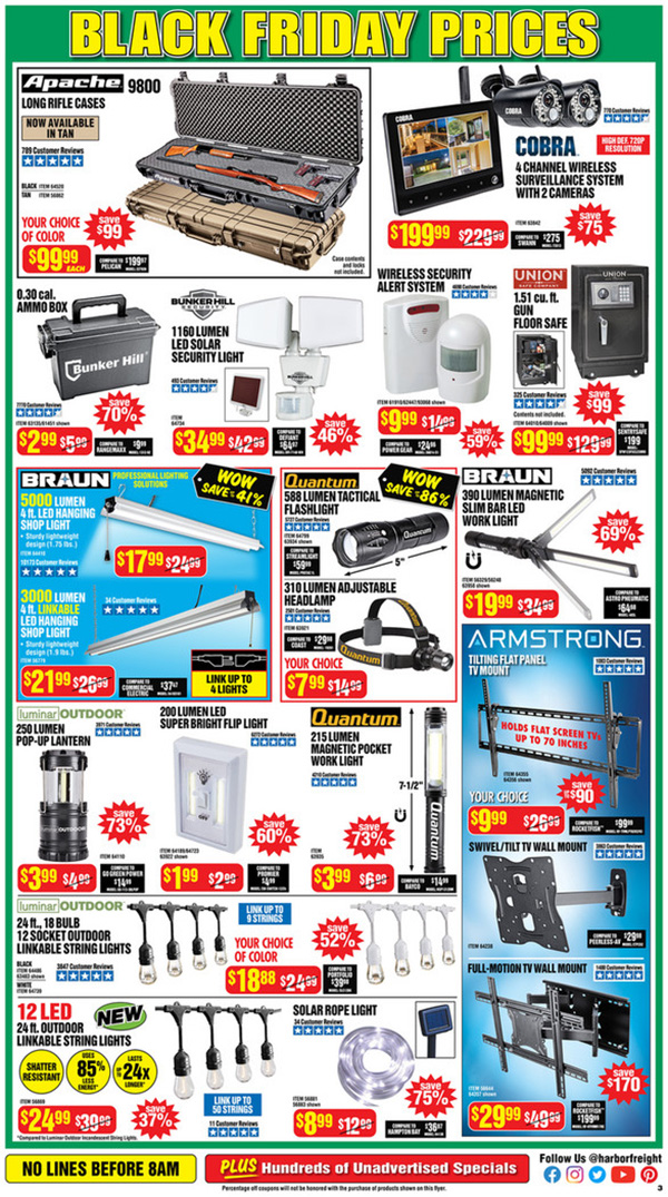 Harbor Freight Black Friday 2020 Tool Deals Page 3