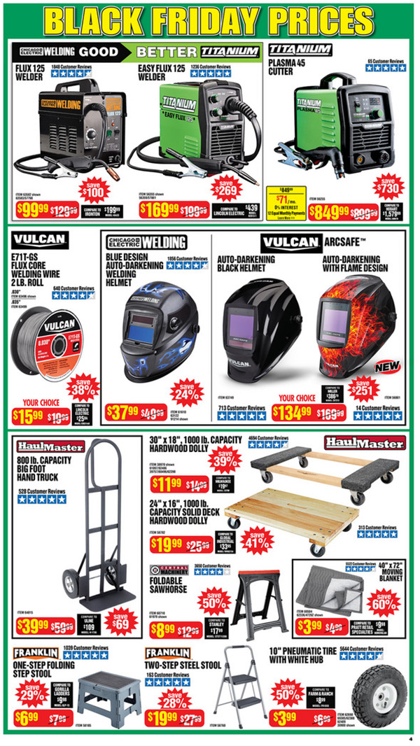 Harbor Freight Black Friday 2020 Tool Deals Page 4
