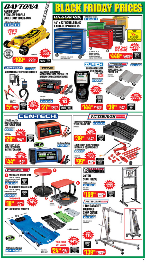 Harbor Freight Black Friday 2020 Tool Deals Page 5