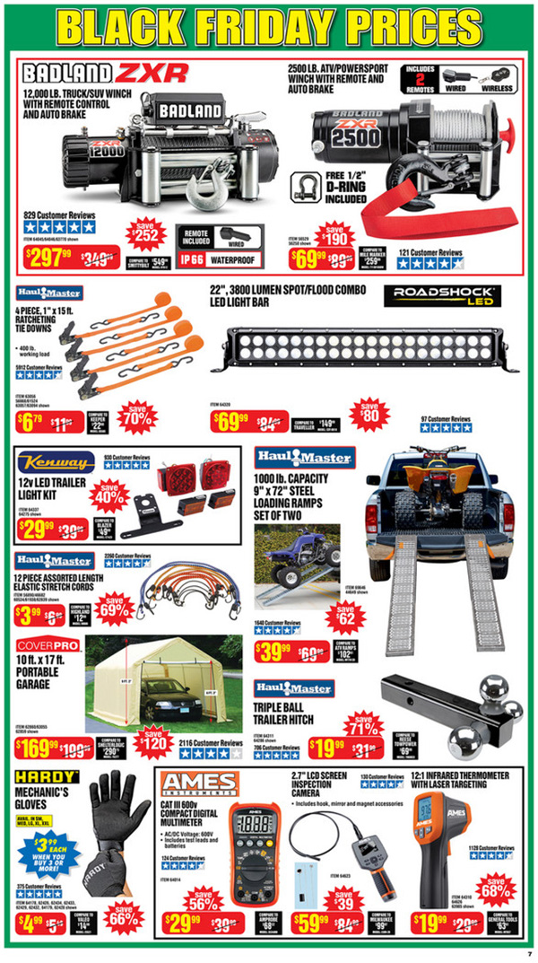 Harbor Freight Black Friday 2020 Tool Deals Page 7