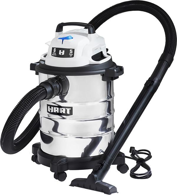 Hart 6 Gallon Shop Vacuum