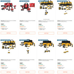 Home Depot Cyber Monday Dewalt Milwaukee Makita Tool Deals of the Day Page 1