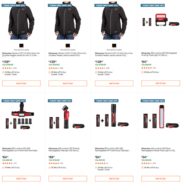 Home Depot Milwaukee Tool Deals of the Day 11-11-2020 Page 5