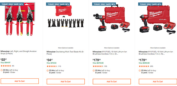 Home Depot Milwaukee Tool Deals of the Day 11-26-2020 Page 3