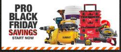 Home Depot Pro Black Friday 2020 Tool Deals