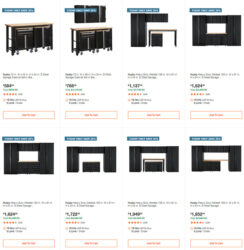 Husky Garage Storage Deals Home Depot 11-29-2020