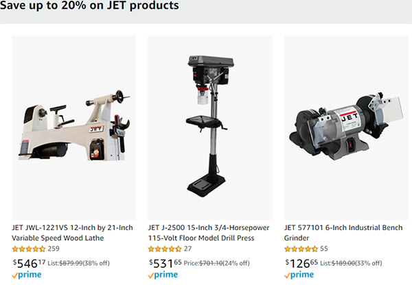 Jet Early Black Friday 2020 Tool Deals