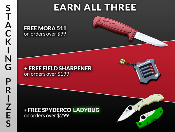 Knives Ship Free Cyber Monday Sale 2020