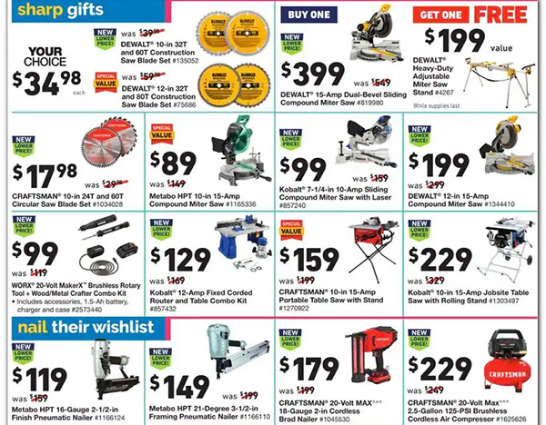 Lowes Black Friday 2020 Tool Deals Page 14
