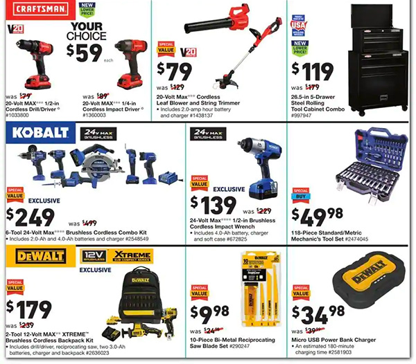 Lowes Black Friday 2020 Tool Deals Page 4