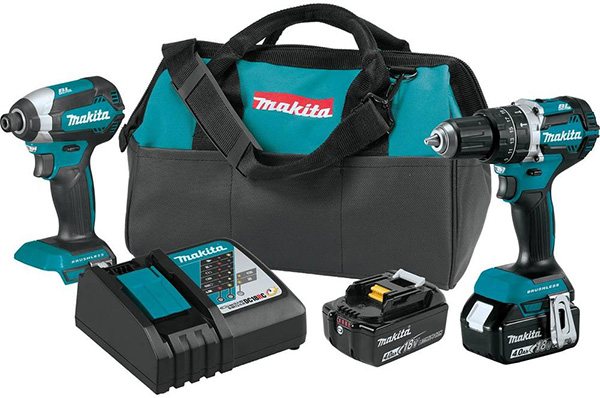 Makita 18V Cordless Power Tool Combo Kit Home Depot Free Bonus 2020