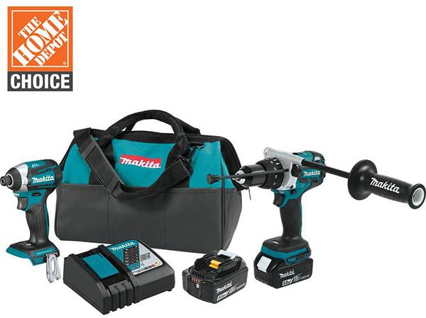 Makita 18V Premium Cordless Power Tool Combo Kit Home Depot Free Bonus 2020
