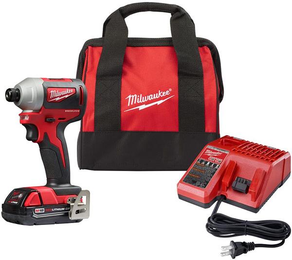 Milwaukee 2850-21P Compact Brushless Impact Driver Kit