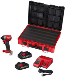Milwaukee 2853-22PO M18 Fuel Impact Driver and Packout Tool Box Black Friday 2020 Deal