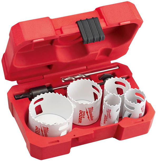 Milwaukee 9pc Hole Dozer Hole Saw Set