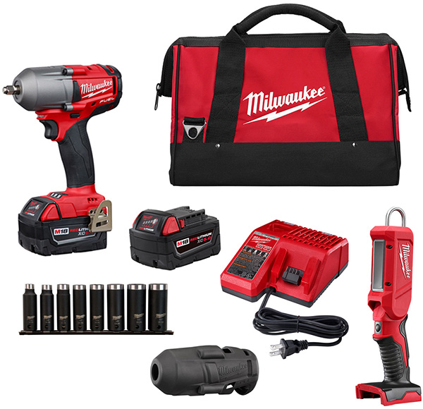 Milwaukee Impact Wrench and Accessory Set Early Black Friday 2020 Tool Deal