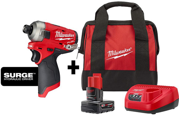Milwaukee M12 Surge Cyber Monday 2020 Tool Deal