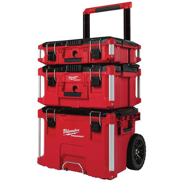 Milwaukee Packout 3pc Tool Box Combo