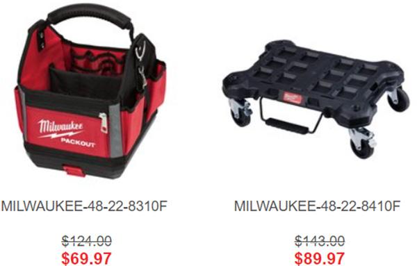 Milwaukee Packout Tool Box Freebie Bonus Holiday 2020 Options
