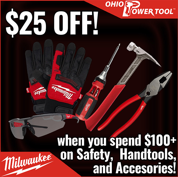 Milwaukee Tool 25 off 100 Flash Sale Hand Tools Safety OPT Cyber Monday 2020