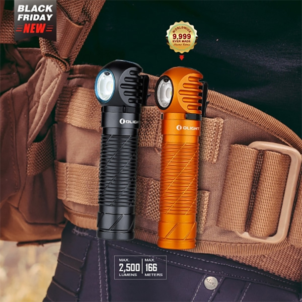 Olight Black Friday 2020 EDC Perun Flashlight Headlamp