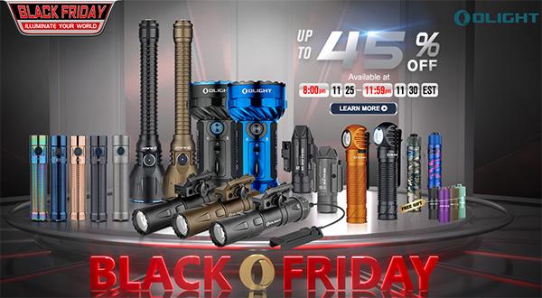 Olight Flashlight Sale Black Friday 2020
