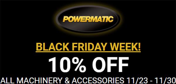 Rockler Powermatic Black Friday Deal 2020