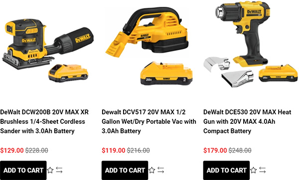 Tool Nut Dewalt Eary Black Friday Tool Deals of the Day 11-23-2020 Page 1