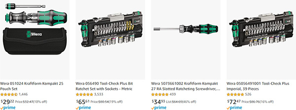 Wera Hand Tool Early Black Friday 2020 Tool Deals Page 1
