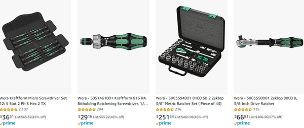 Wera Hand Tool Early Black Friday 2020 Tool Deals Page 2