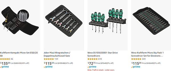 Wera Hand Tool Early Black Friday 2020 Tool Deals Page 4