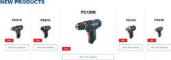 Bosch 12V Max Cordless Power Tools Bare Tools 2021