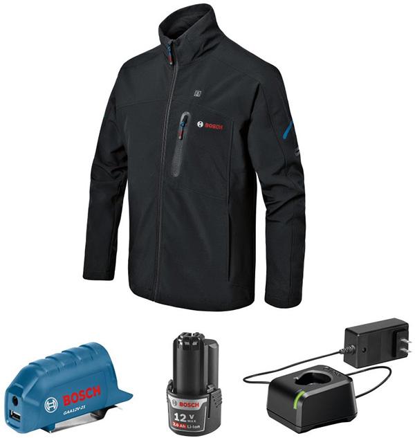 Bosch Heated Jacket GHJ12V-20 2021 Kit