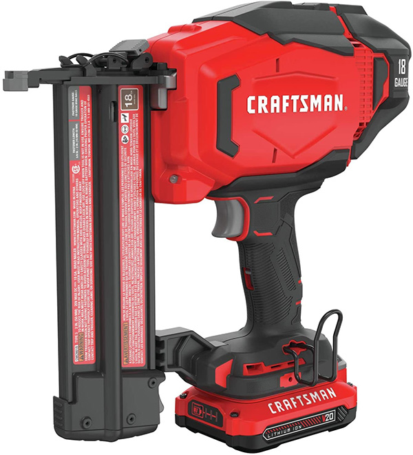 Craftsman Cordless Brad Nailer Kit