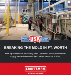 Craftsman Hand Tools USA 2021