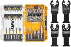 Dewalt Screwdriver Bit Set and Oscillating Multi-Tool Bundle DWAO50SET