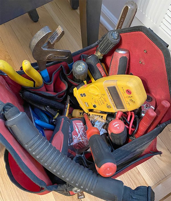 Electrician Tool Bag 12-2020