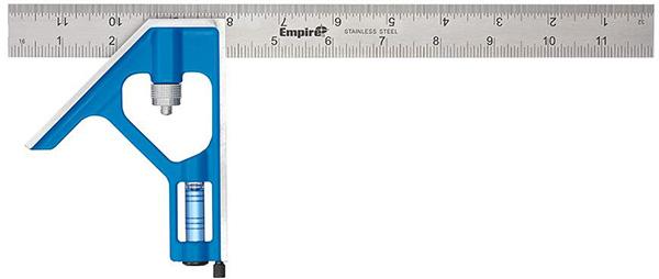 Empire Level 12-inch Combination Square